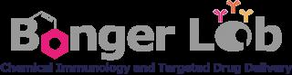 Bonger lab logo - grijs